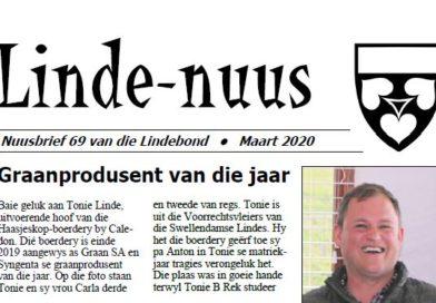 Linde-Nuus 69 – Maart 2020